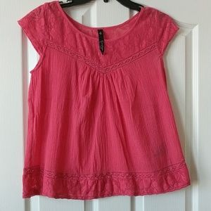 Jessica Simpson Pamplona lace trim
